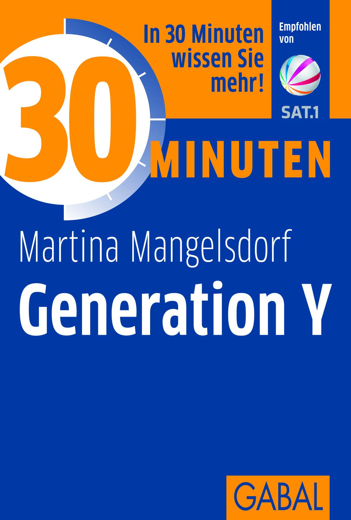gabal verlag 30 minuten generation y ins buch blättern 30 minuten generation y buchcover