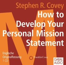 How to Develop Your Personal Mission Statement (Buchcover)
