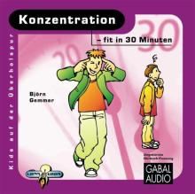 Konzentration - fit in 30 Minuten (Buchcover)
