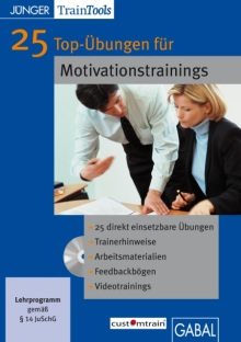 25 Top-Übungen für Motivationstrainings (Buchcover)