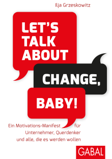 Let's talk about change, baby! (Buchcover)